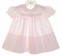 "<img src=""https://p11.secure.hostingprod.com/@grammies-attic.com/ssl/images/blue-sold-1.gif""> Feltman Brothers Palest Pink Smocked Dress with White Embroidery"