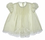 "<img src=""https://p11.secure.hostingprod.com/@grammies-attic.com/ssl/images/blue-sold-1.gif""> Feltman Brothers Pale Yellow Batiste Dress with Pintucks and Lace Insertion"