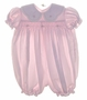 "<img src=""https://p11.secure.hostingprod.com/@grammies-attic.com/ssl/images/blue-sold-1.gif""> Petit Ami Pink Smocked Bubble with Pink and White Scalloped Collar"