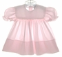 "<img src=""https://p11.secure.hostingprod.com/@grammies-attic.com/ssl/images/blue-sold-1.gif""> Petit Ami Pink Smocked Baby Dress with White Embroidered Collar"