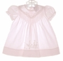 "<img src=""https://p11.secure.hostingprod.com/@grammies-attic.com/ssl/images/blue-sold-1.gif""> Carriage Boutiques Pink Baby Dress with Lace and Embroidery"