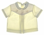 "<img src=""https://p11.secure.hostingprod.com/@grammies-attic.com/ssl/images/blue-sold-1.gif""> Carriage Boutiques Pale Yellow Diaper Shirt with Appliqued Ducks"