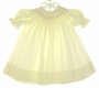 "<img src=""https://p11.secure.hostingprod.com/@grammies-attic.com/ssl/images/blue-sold-1.gif""> House of Hatten Yellow Smocked Bishop Dress with Pastel Embroidered Flowers"