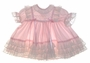 "<img src=""https://p11.secure.hostingprod.com/@grammies-attic.com/ssl/images/blue-sold-1.gif""> Toddle Tyke Pink Ruffly Baby Dress with Lace and Ribbons"