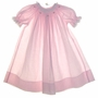 "<img src=""https://p11.secure.hostingprod.com/@grammies-attic.com/ssl/images/blue-sold-1.gif""> House of Hatten Pink Bishop Smocked Dress with Embroidered Rosebuds"