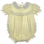 "<img src=""https://p11.secure.hostingprod.com/@grammies-attic.com/ssl/images/blue-sold-1.gif""> Bryan Pale Yellow Baby Bubble with Lace Ruffled Bottom"