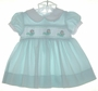 "<img src=""https://p11.secure.hostingprod.com/@grammies-attic.com/ssl/images/blue-sold-1.gif""> Carriage Boutiques Green Checked Dress with Smocking"