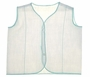 "<img src=""https://p11.secure.hostingprod.com/@grammies-attic.com/ssl/images/blue-sold-1.gif""> White Cotton Blend Diaper Shirt with Green Stitching"