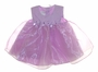 "<img src=""https://p11.secure.hostingprod.com/@grammies-attic.com/ssl/images/blue-sold-1.gif""> NEW Samara Lilac Organza Baby Dress with Lilac Ribbon Roses"