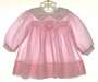 "<img src=""https://p11.secure.hostingprod.com/@grammies-attic.com/ssl/images/blue-sold-1.gif""> Allison Scott Pink Striped Smocked Dress with Long Sleeves"