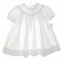 "<img src=""https://p11.secure.hostingprod.com/@grammies-attic.com/ssl/images/blue-sold-1.gif""> NEW Petit Ami White Bishop Dress with Lace Insertion and Embroidery"