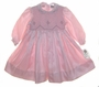 "<img src=""https://p11.secure.hostingprod.com/@grammies-attic.com/ssl/images/blue-sold-1.gif""> NEW Sarah Louise Rose Taffeta Smocked Dress with Embroidered Rosebuds"