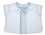 "<img src=""https://p11.secure.hostingprod.com/@grammies-attic.com/ssl/images/blue-sold-1.gif""> NEW Feltman Brothers White Embroidered Diaper Shirt with Fagoting and Embroidery"