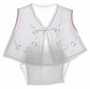 "<img src=""https://p11.secure.hostingprod.com/@grammies-attic.com/ssl/images/blue-sold-1.gif""> NEW Will'Beth White Embroidered Diaper Set with Matching Pink Gingham Bib and Bonnet"