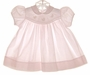 "<img src=""https://p11.secure.hostingprod.com/@grammies-attic.com/ssl/images/blue-sold-1.gif""> Carriage Boutiques Pale Pink Dress with Baby Chick Applique"