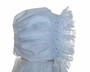 "<img src=""https://p11.secure.hostingprod.com/@grammies-attic.com/ssl/images/blue-sold-1.gif""> NEW Custom Made White Hand Smocked Baby Bonnet with Pink and Blue Smocking"