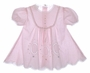 "<img src=""https://p11.secure.hostingprod.com/@grammies-attic.com/ssl/images/blue-sold-1.gif""> Garden of Angels Pale Pink Elaborately Embroidered Dress"