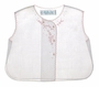 "<img src=""https://p11.secure.hostingprod.com/@grammies-attic.com/ssl/images/blue-sold-1.gif""> NEW Feltman Brothers White Diaper Shirt with Pink Embroidered Bows"