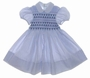 "<img src=""https://p11.secure.hostingprod.com/@grammies-attic.com/ssl/images/blue-sold-1.gif""> Feltman Brothers Blue Striped Smocked Baby Dress"