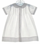 "<img src=""https://p11.secure.hostingprod.com/@grammies-attic.com/ssl/images/blue-sold-1.gif""> NEW Petit Ami White Daygown with Pintucks and Fagoting"