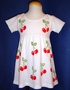 "<img src=""https://p11.secure.hostingprod.com/@grammies-attic.com/ssl/images/blue-sold-1.gif""> Cotton Knit Baby Dress with Hand Painted Cherries"