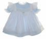 "<img src=""https://p11.secure.hostingprod.com/@grammies-attic.com/ssl/images/blue-sold-1.gif""> NEW Bryan Blue Eyelet Trimmed Baby Dress with White Eyelet Trimmed Pinafore"