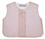 "<img src=""https://p11.secure.hostingprod.com/@grammies-attic.com/ssl/images/blue-sold-1.gif""> NEW Feltman Brothers Pale Pink Diaper Shirt with Floral Applique and Embroidery"