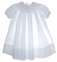 "<img src=""https://p11.secure.hostingprod.com/@grammies-attic.com/ssl/images/blue-sold-1.gif""> NEW Feltman Brothers White Smocked Bishop Dress for Toddlers"