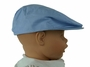 NEW Blue Chambray Newsboy Hat