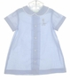 Bailey Babies Daygown with Embroidered Giraffe