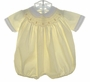 Feltman Brothers Pale Yellow Smocked Bubble