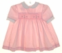 "<img src=""https://p11.secure.hostingprod.com/@grammies-attic.com/ssl/images/blue-sold-1.gif""> Polly Flinders Pink Smocked Dress with White Collar and Cuffs"