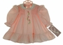 "<img src=""https://p11.secure.hostingprod.com/@grammies-attic.com/ssl/images/blue-sold-1.gif""> NEW Polly Flinders Pink Smocked Dress with Lace Trimmed Collar and Embroidered Flowers"