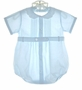 "<img src=""https://p11.secure.hostingprod.com/@grammies-attic.com/ssl/images/blue-sold-1.gif""> Feltman Brothers Pale Blue Romper with Scalloped Collar"
