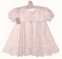"<img src=""https://p11.secure.hostingprod.com/@grammies-attic.com/ssl/images/blue-sold-1.gif""> NEW Garden Of Angels Pink Pleated Dress with Pastel Embroidery and Lace Insertion"