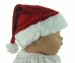 NEW Red Plush Santa Hat for Babies, Toddlers, and Children