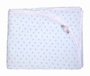 "<img src=""https://p11.secure.hostingprod.com/@grammies-attic.com/ssl/images/blue-sold-1.gif""> NEW Cotton Rosebud Print Blanket and Bib Set"
