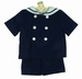 "<img src=""https://p11.secure.hostingprod.com/@grammies-attic.com/ssl/images/blue-sold-1.gif""> NEW Gordon and Company Navy Sailor Shorts Set with White Trim"