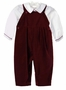 "<img src=""https://p11.secure.hostingprod.com/@grammies-attic.com/ssl/images/blue-sold-1.gif""> NEW Sophie Dess Burgundy Velvet Longall with White Shirt"