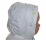 "<img src=""https://p11.secure.hostingprod.com/@grammies-attic.com/ssl/images/blue-sold-1.gif""> NEW MJ Collection White Heirloom Style Bonnet with Blue Embroidered Birds"
