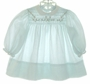 "<img src=""https://p11.secure.hostingprod.com/@grammies-attic.com/ssl/images/blue-sold-1.gif""> Carrousel Green Smocked Dress with Long Sleeves"