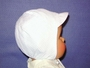 "<img src=""https://p11.secure.hostingprod.com/@grammies-attic.com/ssl/images/blue-sold-1.gif""> Vintage 1950s White Cotton Hat for Baby Boys"