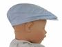 NEW Gordon & Company Blue Seersucker Newsboy Hat