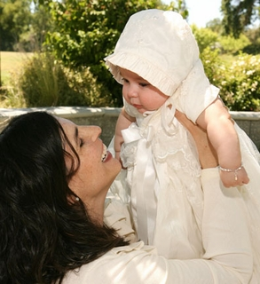 eb2bc1ad213 cotton christening gown