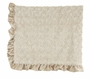 "<img src=""http://site.grammies-attic.com/images/blue-sold-1.gif""> NEW Max Daniel Champagne Softest Baby Blanket with Satin Trim"