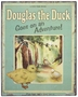 "<img src=""https://p11.secure.hostingprod.com/@grammies-attic.com/ssl/images/blue-sold-1.gif""> NEW Vintage Style Storybook Sign ""Douglas the Duck"""