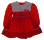 "<img src=""https://p11.secure.hostingprod.com/@grammies-attic.com/ssl/images/blue-sold-1.gif""> Polly Flinders Red Smocked Dress with Heart Embroidery and White Portrait Collar"