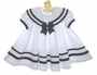 "<img src=""https://p11.secure.hostingprod.com/@grammies-attic.com/ssl/images/blue-sold-1.gif""> NEW Shirley Temple Style White Pleated Sailor Dress"
