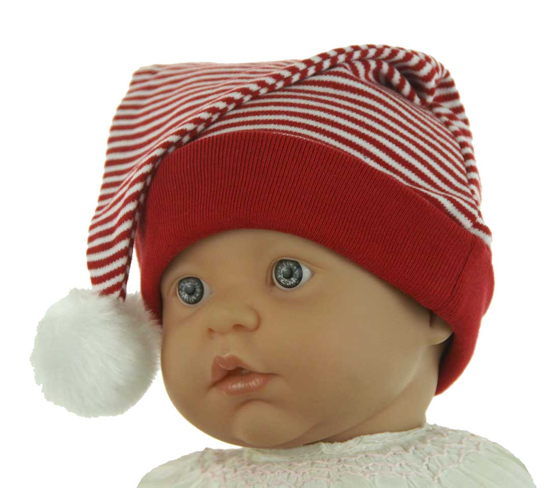 baby striped santa hat infant striped santa hat red striped santa