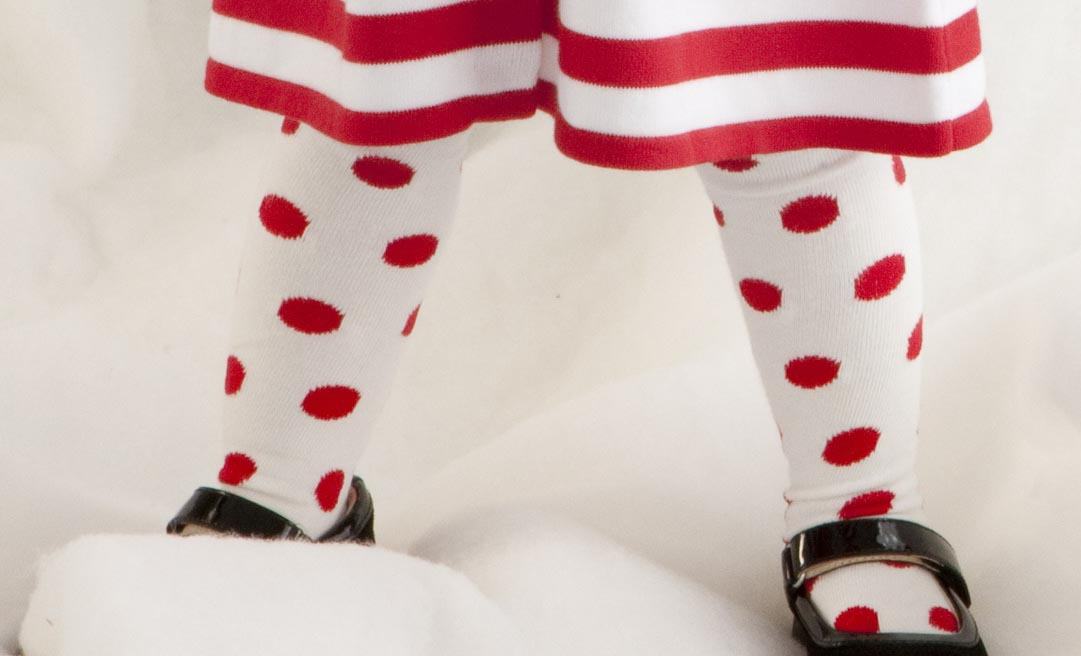 baby tights toddler tights girls tights dotted tights christmas tights